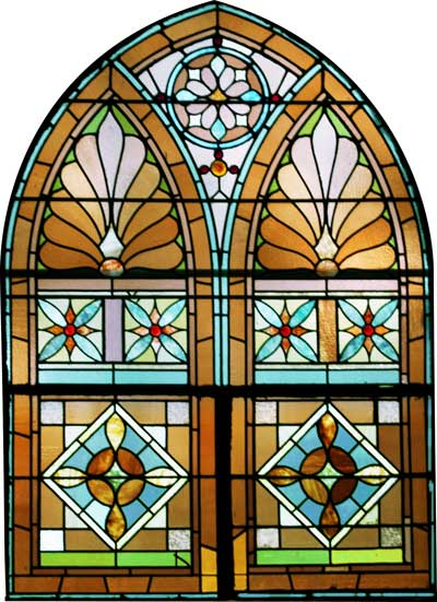 Church stained glass designs images for Window side design